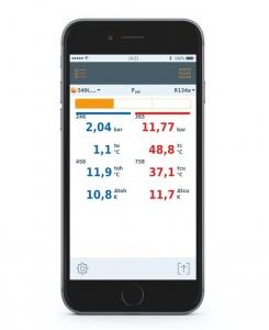 Testo App SCreen
