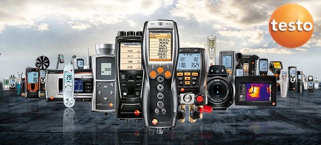Testo HVAC Measuring Equipment